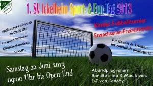 1. SV Ickelheim Sport- & Fun-Tag 2013